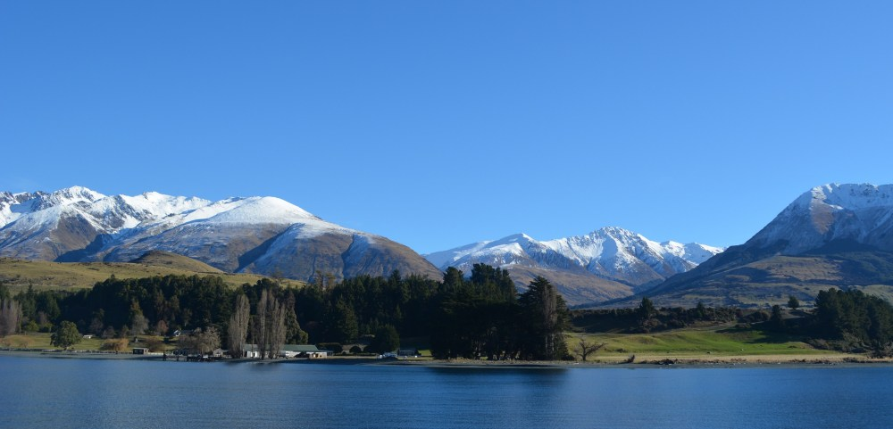 Southern Alps as seen from the Cruise