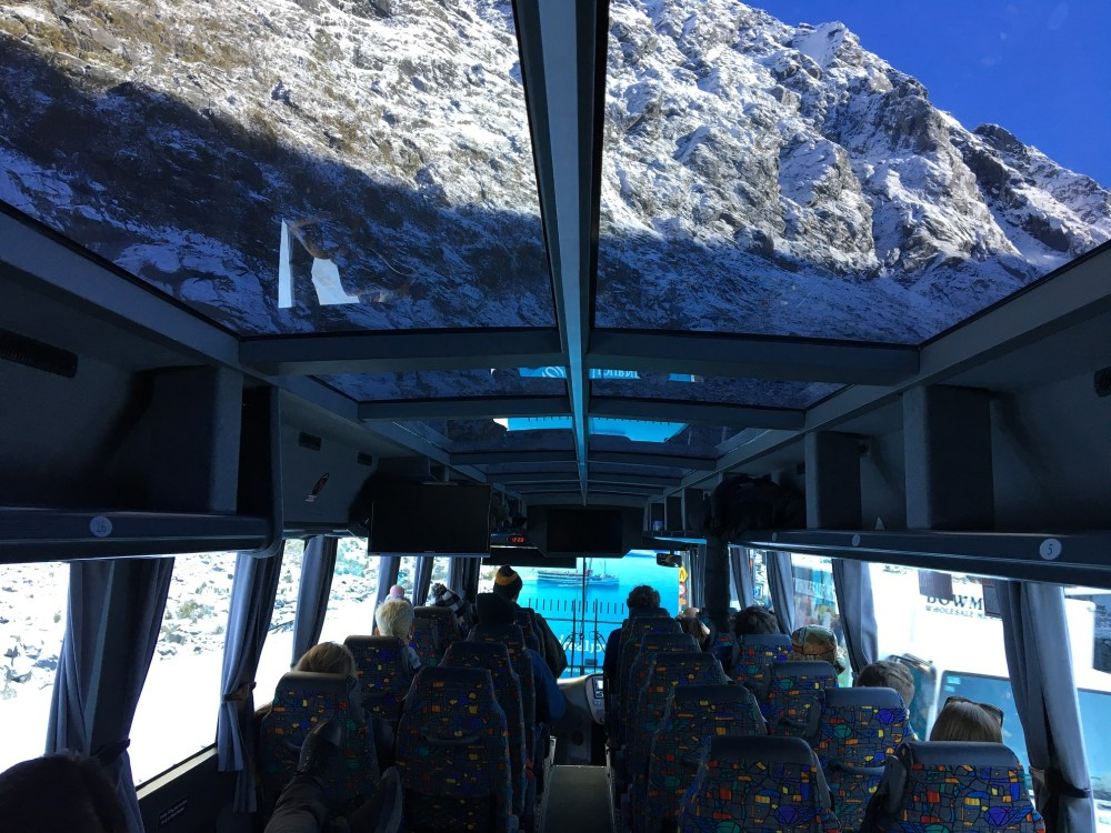 Glass Coach to Milford Sound