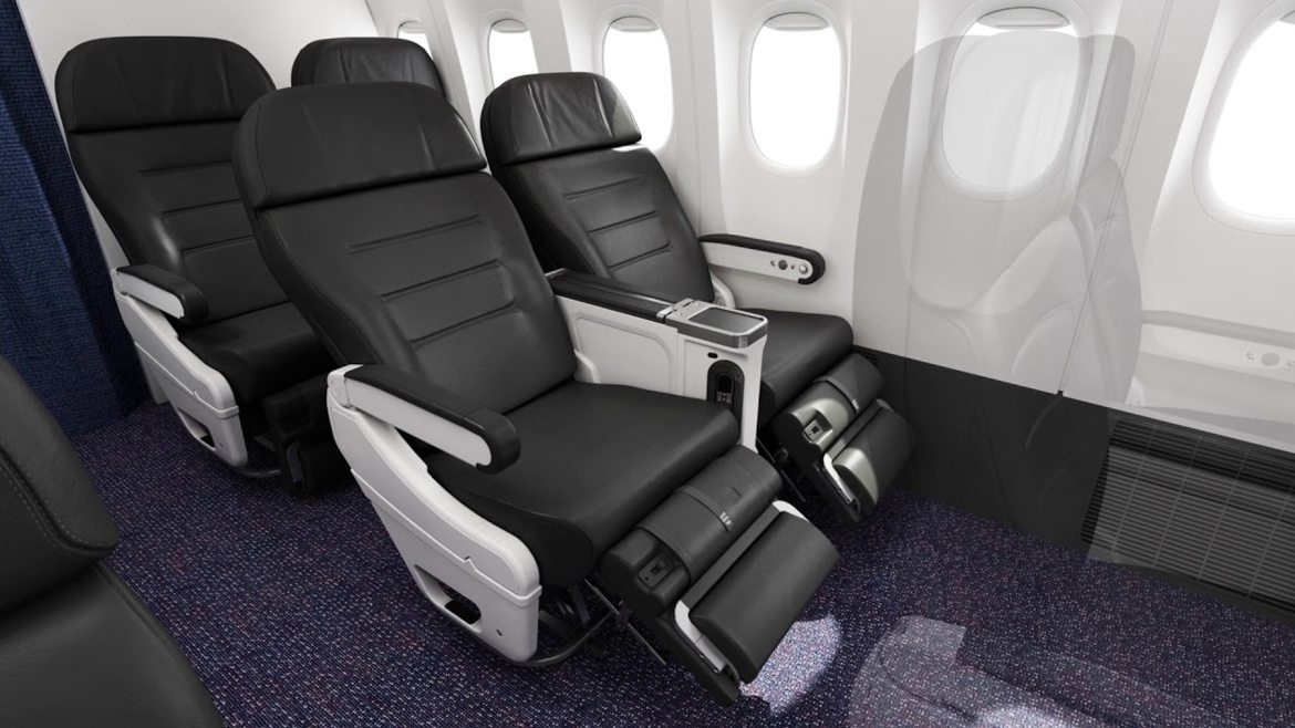 Look for premium economy budget airlines