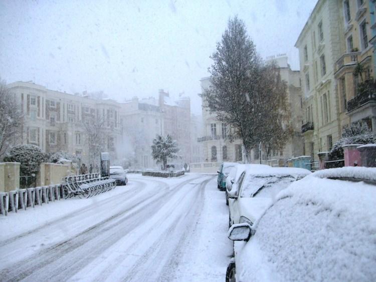 Londres a branco