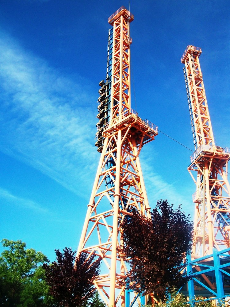 Parque Warner em Madrid,