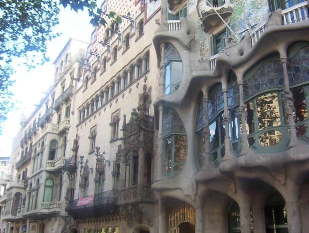 Barcelona mansana dela discordia