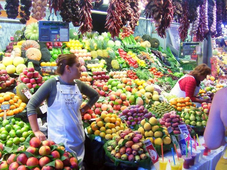 Mercat de la Boqueria, Barcelona mercados irresistíveis pela Europa