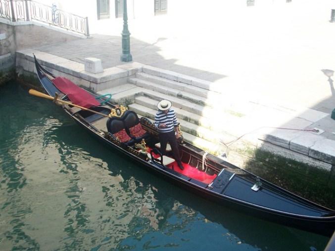 veneza gondola