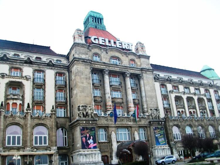 Hotel gellert Budapeste