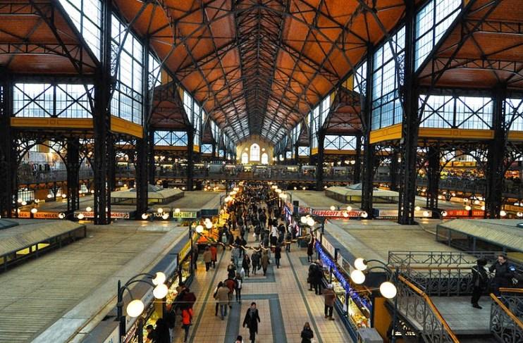 Budapeste Mercado Central