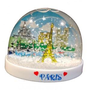 bola-de-neve-lembranca-dos-monumentos-paris