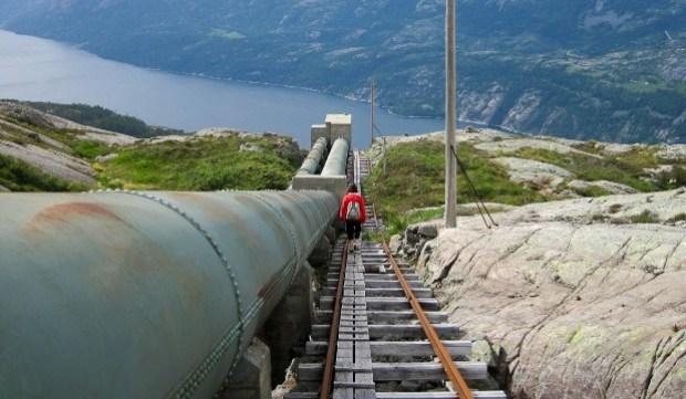 Florli, Lysefjord, Noruega
