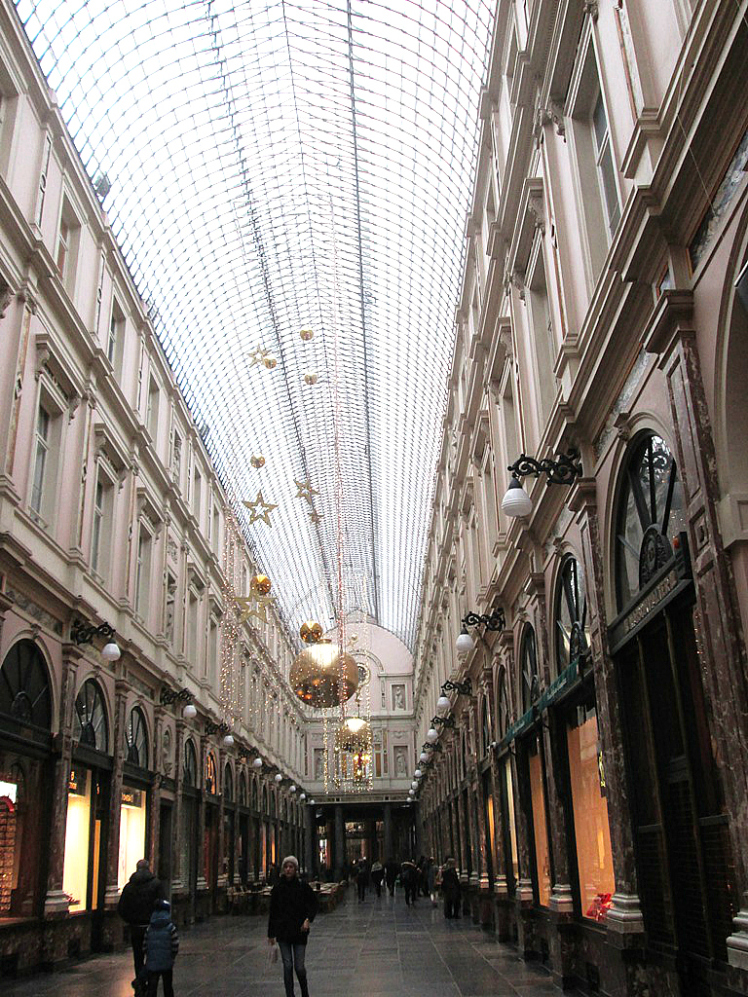 bruxelas Galeries Royales St-Hubert