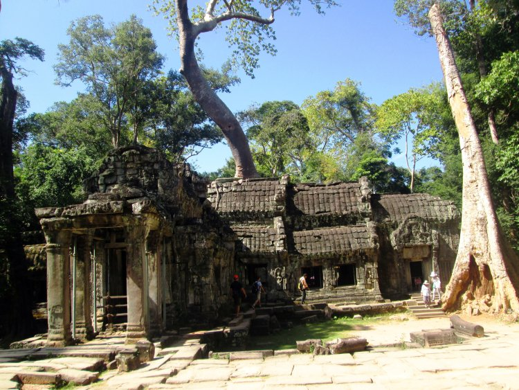 ta-prohm- os templos Angkor Wat