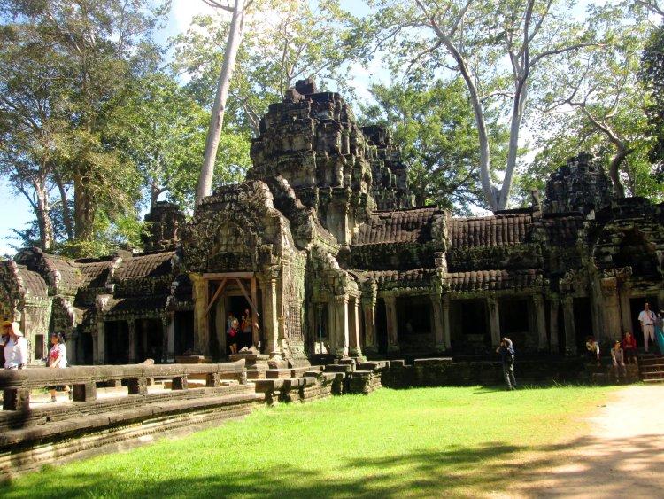 ta-prohm os templos Angkor Wat