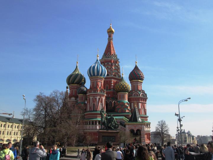 Vamos descobrir Moscovo?