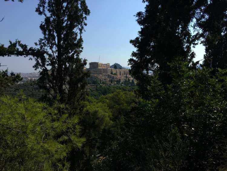 Athenas - Filopappos Atenas berço da civilização