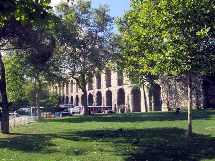 Istambul - Aqueduto Valens
