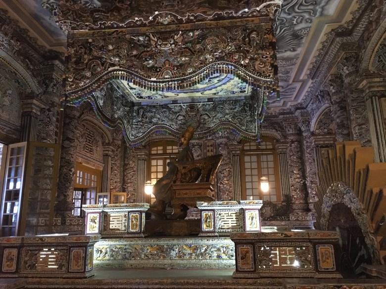 Hue - Khai Dinh Tomb4