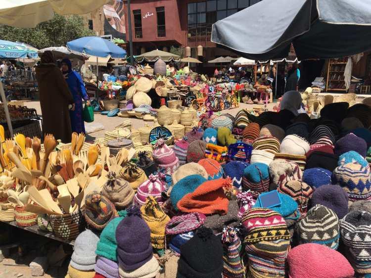 Marrakech Souks - fotos que o vão levar a Marraquexe