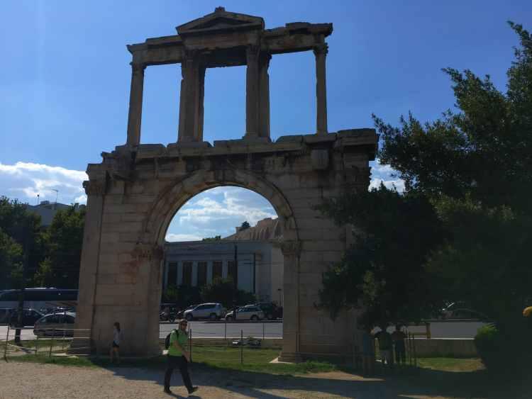 Athenas - Adrian Arch