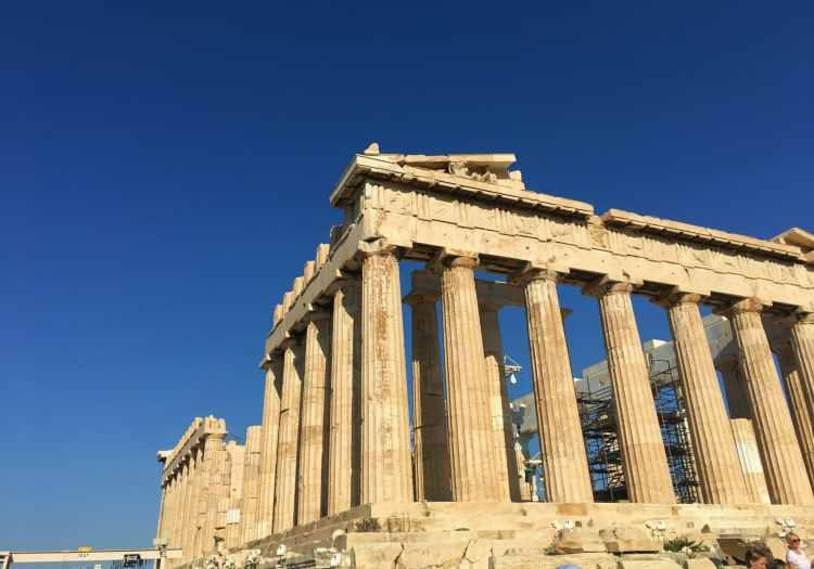 Athenas - Acropole Atenas berço da civilização