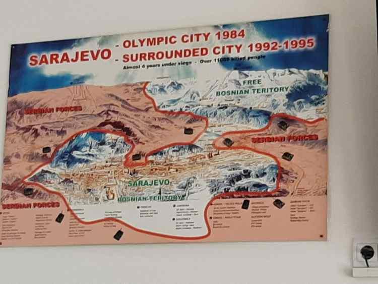 Sarajevo, percurso pelas memórias do cerco