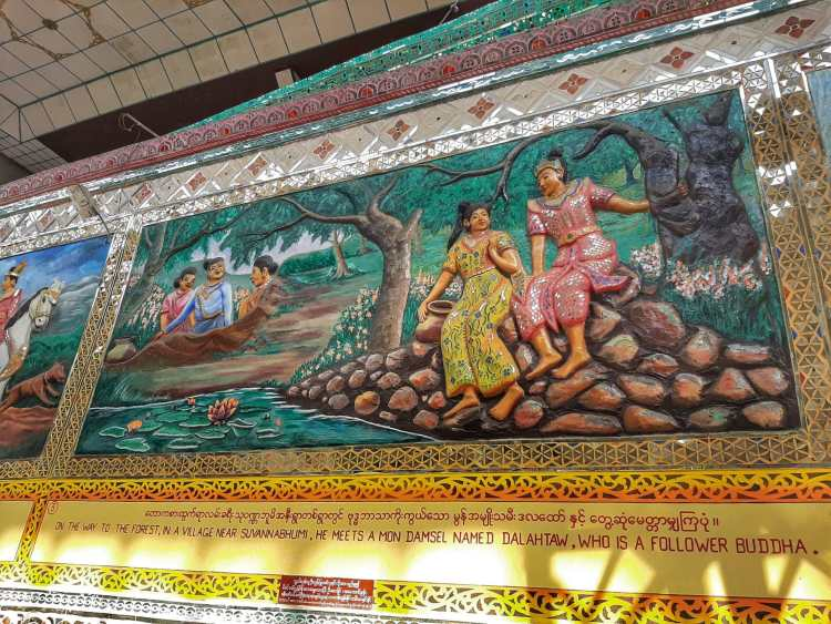 Buda de Shwethalyaung