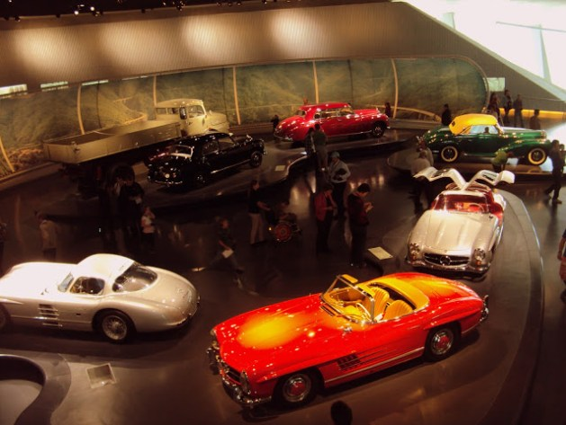The Best or Nothing, The Mercedes-Benz Museum, Stuttgart, Germany, Travel realizations