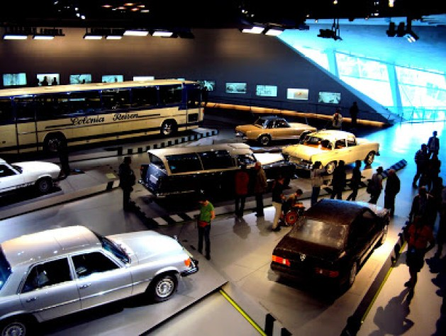 The Best or Nothing, The Mercedes Benz Museum, Stuttgart, Germany, Travel realizations