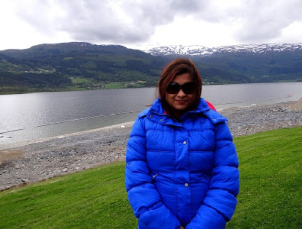 Myself in Voss, Norway.