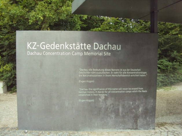 Dachau Concentration Camp Memorial Site.