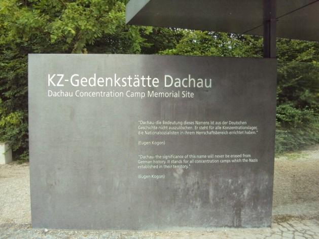 Dachau Concentration Camp Memorial Site.