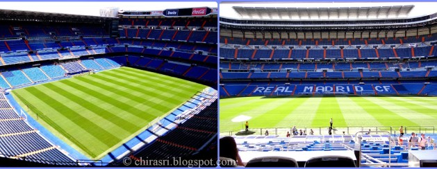 Santiago Bernabeu Stadium, Travel Realizations, Spain