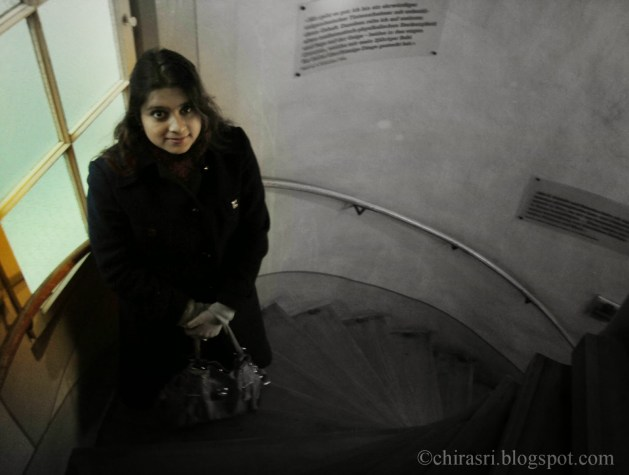 Myself inside Einstein House