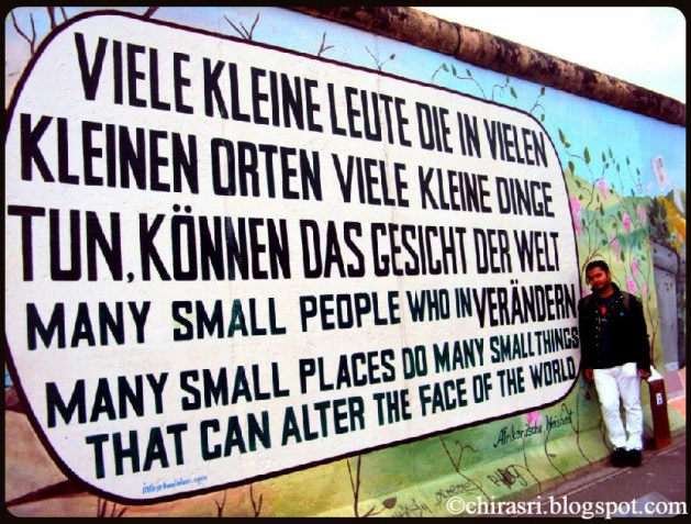 Travel Realizations, The Berlin Wall