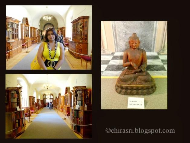 Inside the Library of Strahov Monastery