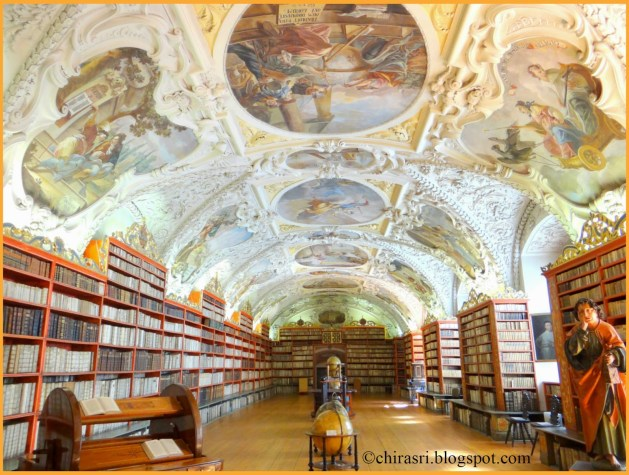 Theological hall, inside the Library of Strahov Monastery