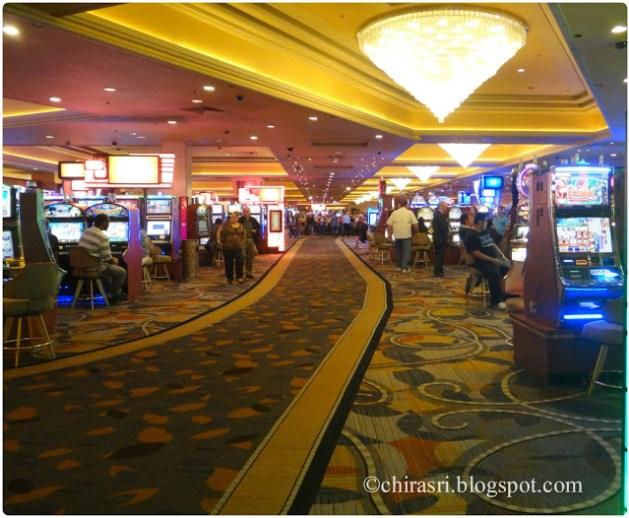 Inside a casino