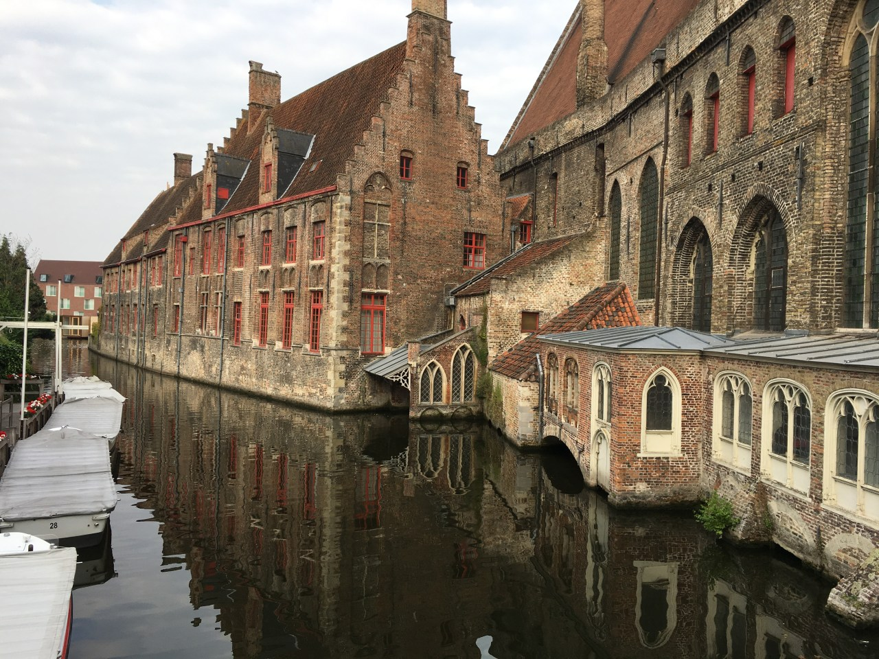 canal ride Bruge