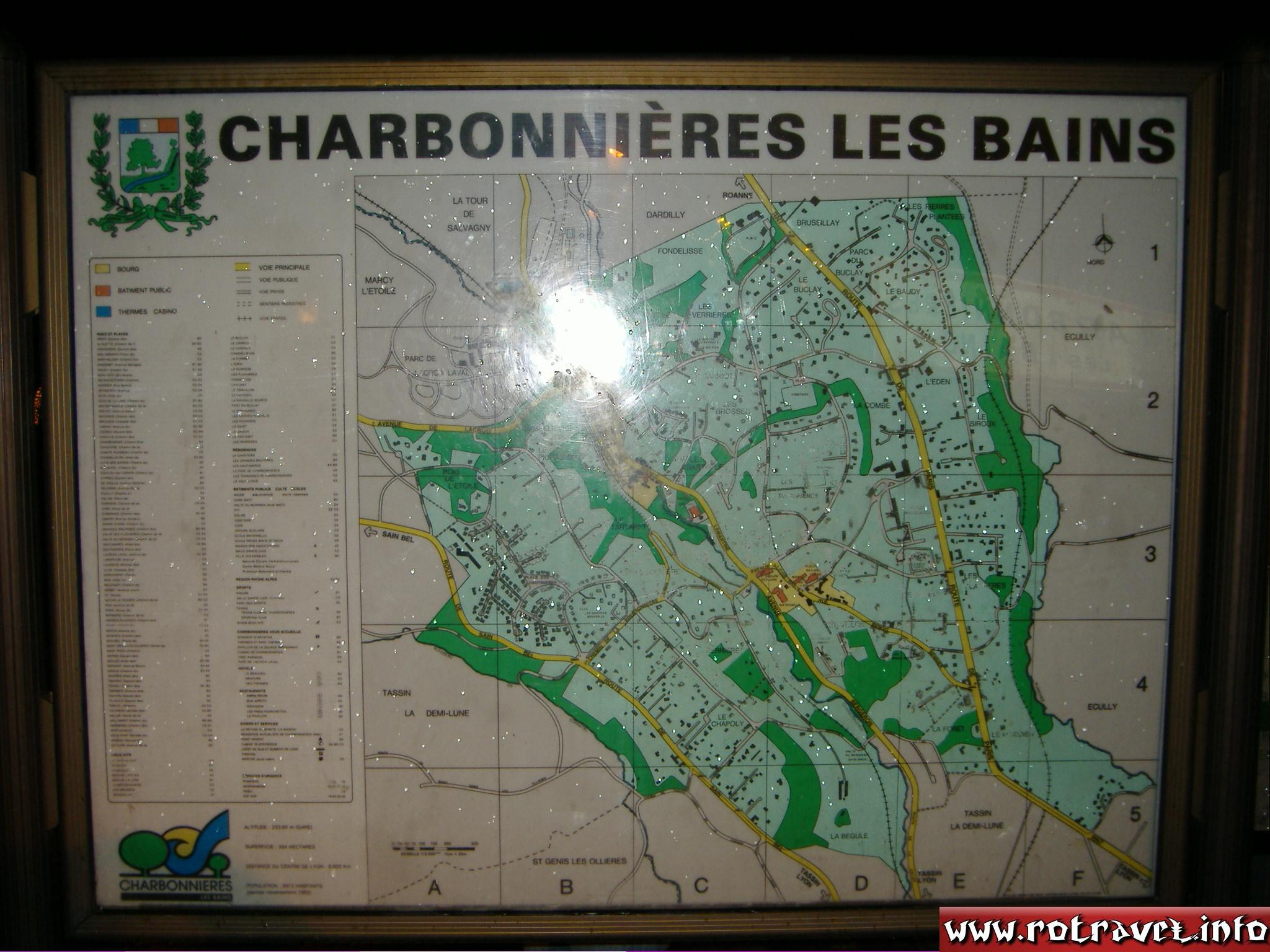 Charbonnières-les-Bains is a commune in the Rhône department in eastern France. The commune is near Lyon.