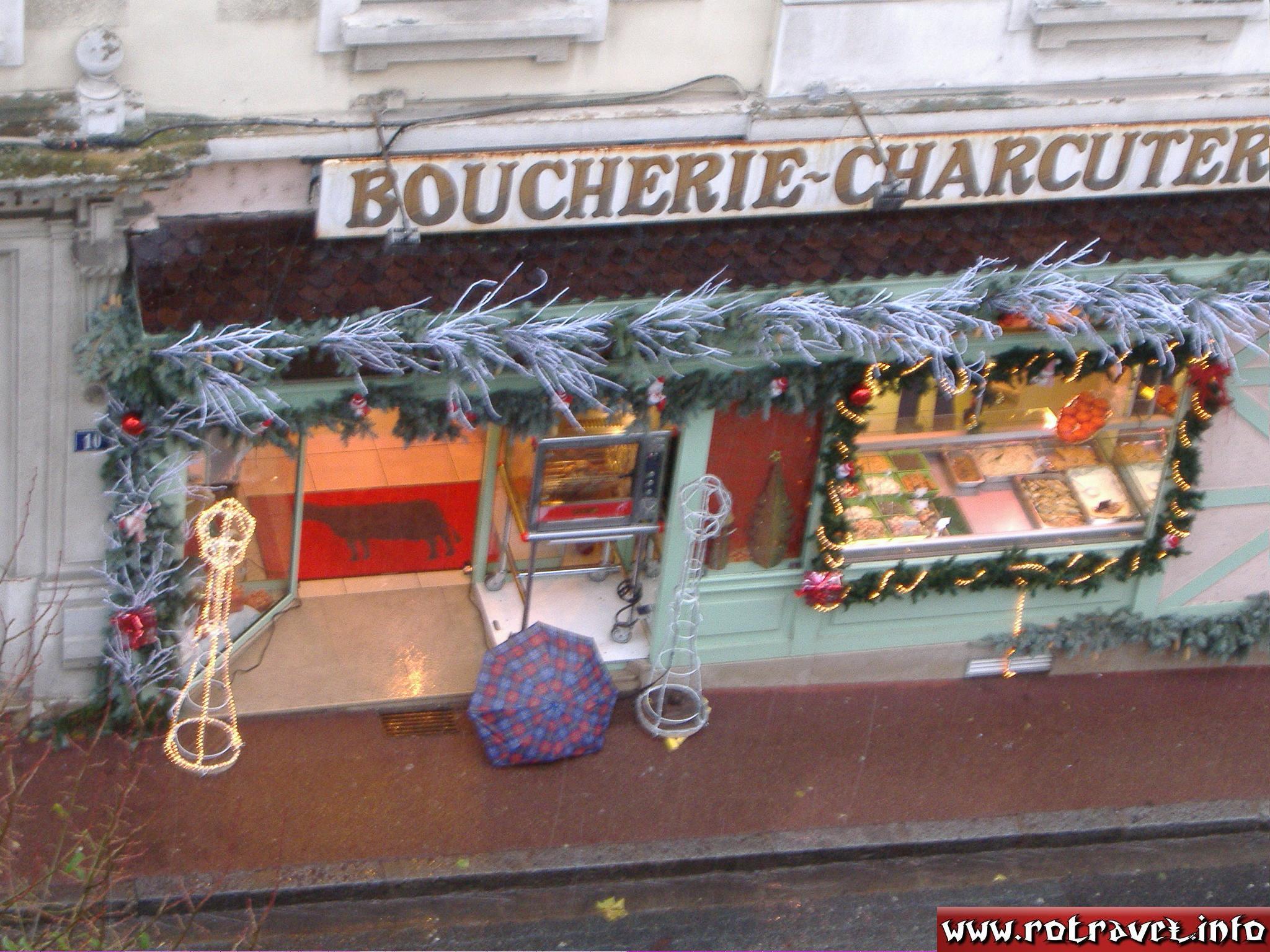 The meat shop was open :) Bon Appétit  ! :P