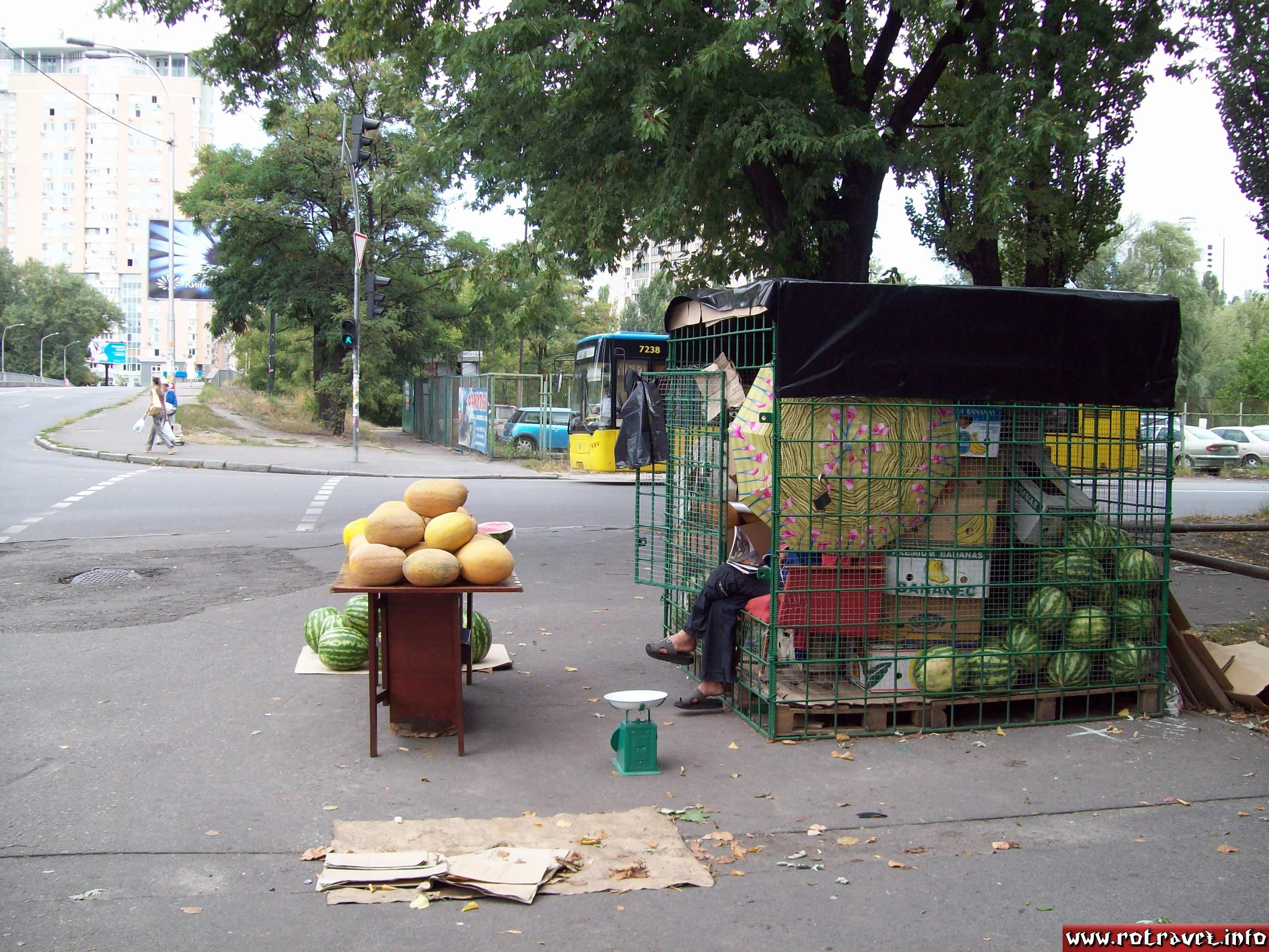 Watermelons from Kherson (Ukrainian and Russian: Херсон)