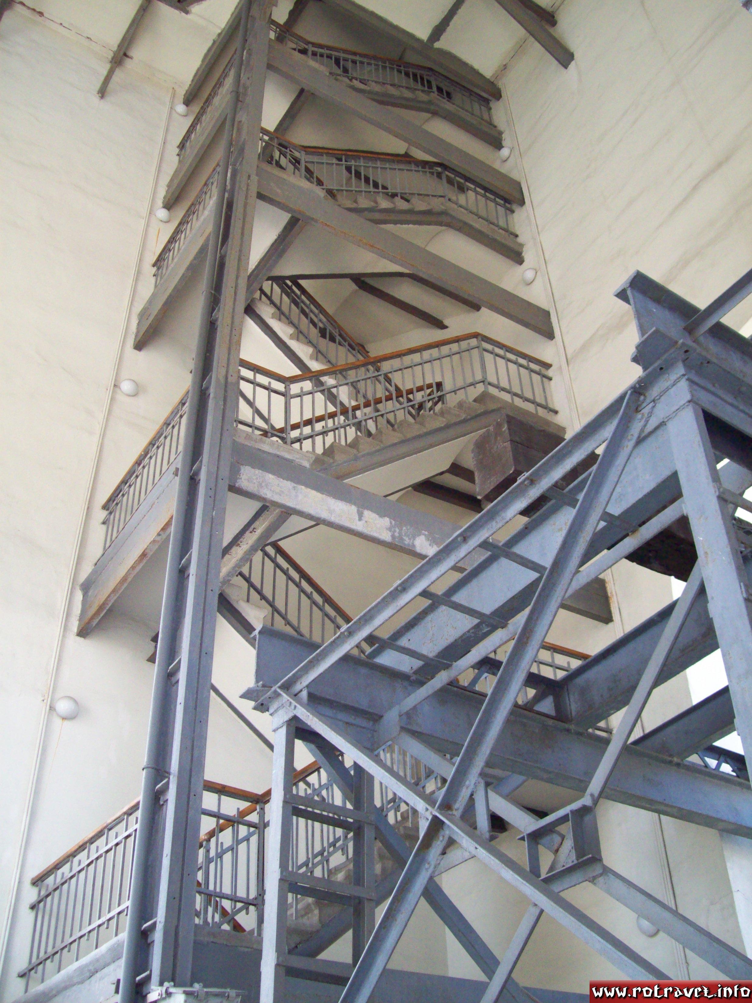 Inside of the belltower