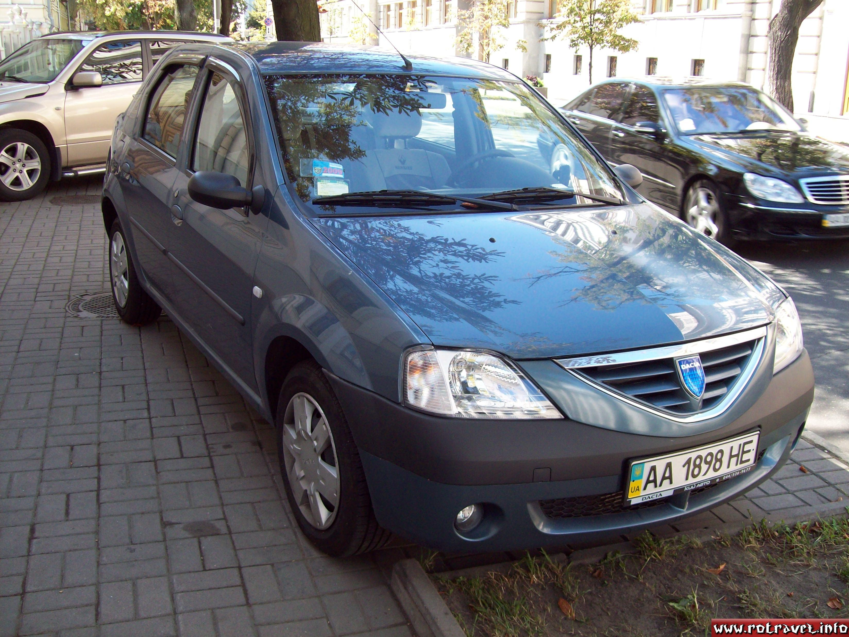 Dacia car in Kiev :)