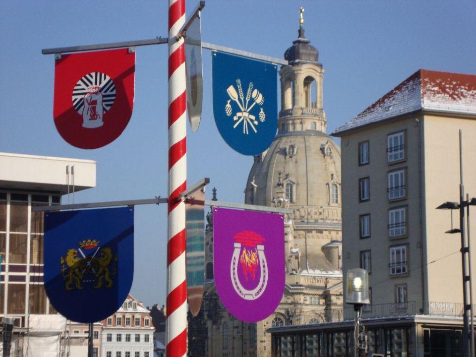 Winterdorf Dresden