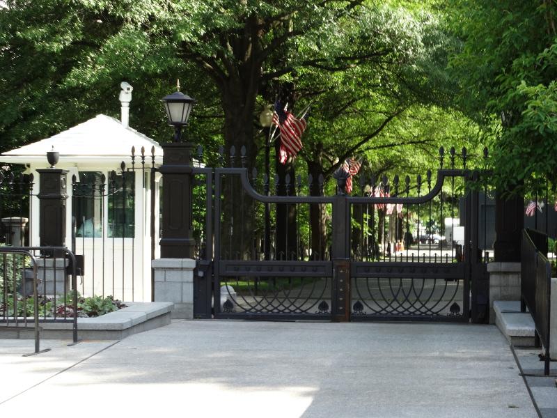 Tor zum Weißen Haus