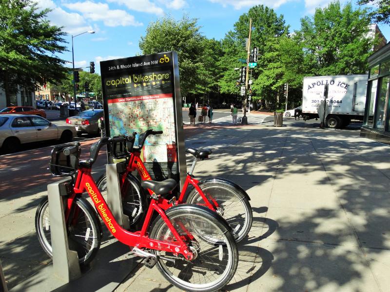 Capital Bikeshare Washington DC