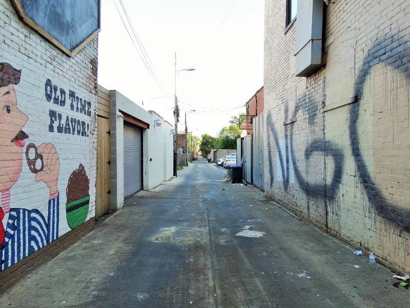 Gasse in der U Street