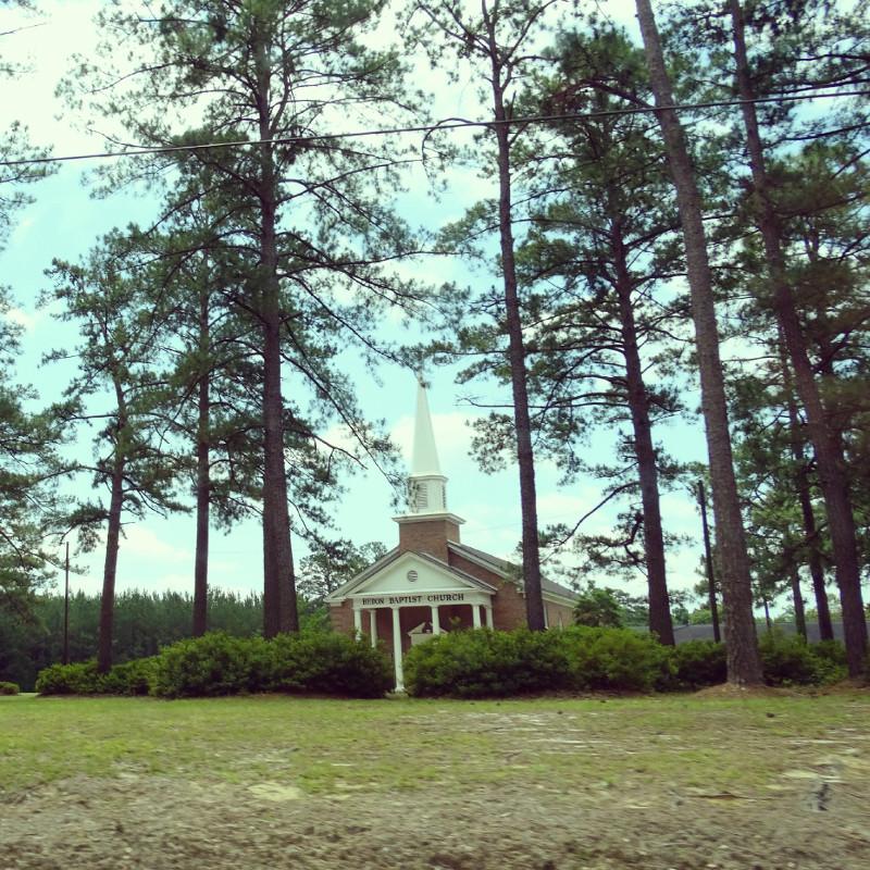 Kleine Kirche im Nirgendwo USA Roadtrip