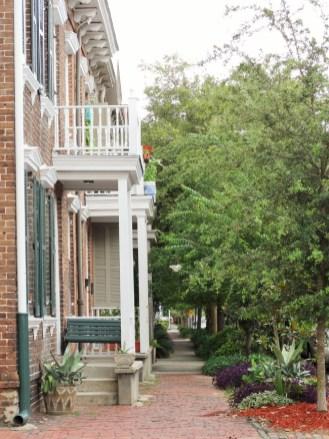 In den Straßen von Savannah