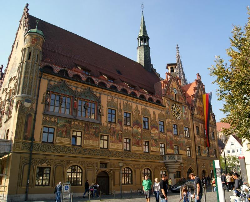 Das Rathaus in Ulm