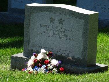 Arlington Friedhof nach dem Memorial Day2014