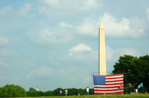 Washington Monument Memorial Day